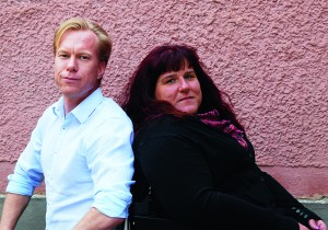 Jesper Wiklund och Veronica Kallander