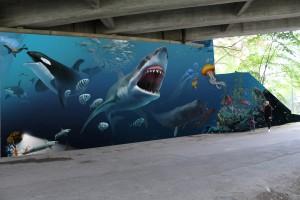 Graffiti Marabouparken 3