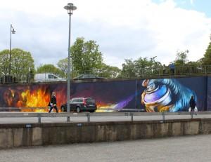 Graffiti Marabouparken 4